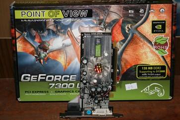 Point of View GeForce 7300 LE 128 MB DDR2 with TV/DVI output